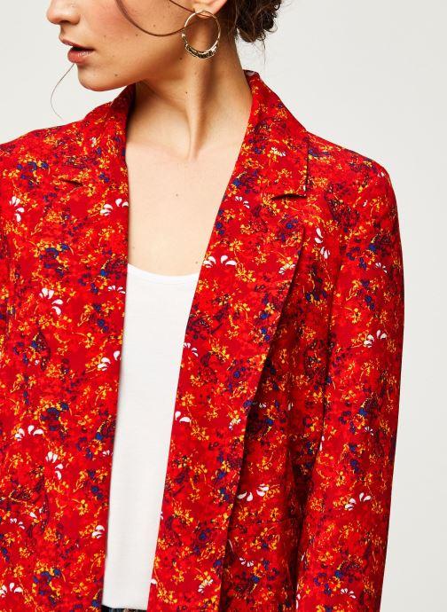 Vêtements Vila Blazers VIRITA Rouge vue face