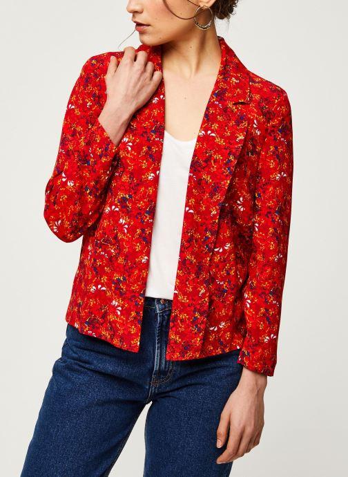 Vêtements Vila Blazers VIRITA Rouge vue droite