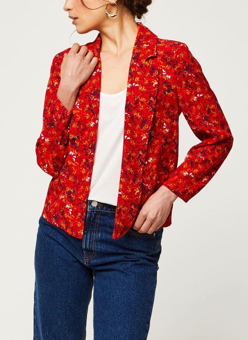 Vêtements Vila Blazers VIRITA Rouge vue détail/paire