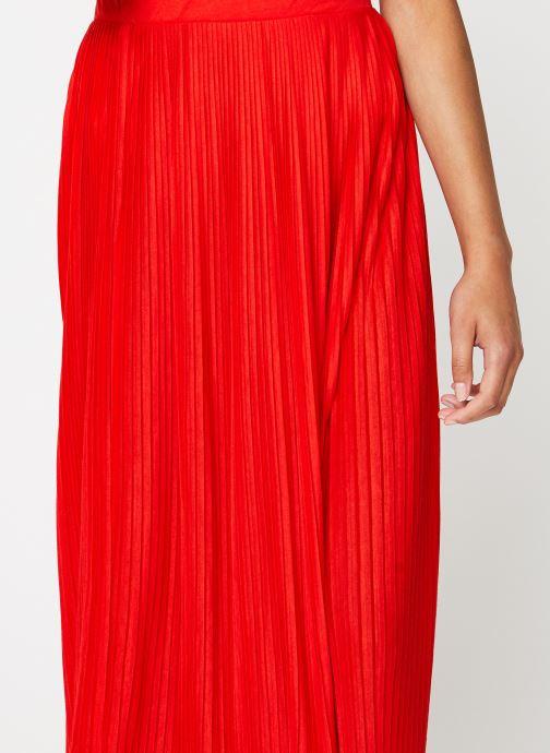Vêtements Vila Long Skirts VIPLISS Rouge vue face