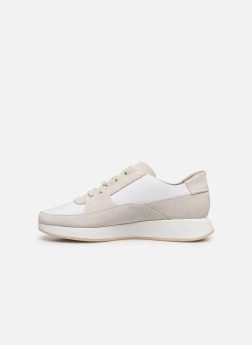 Sneakers Clarks Originals Kiowa Pace M Bianco immagine frontale