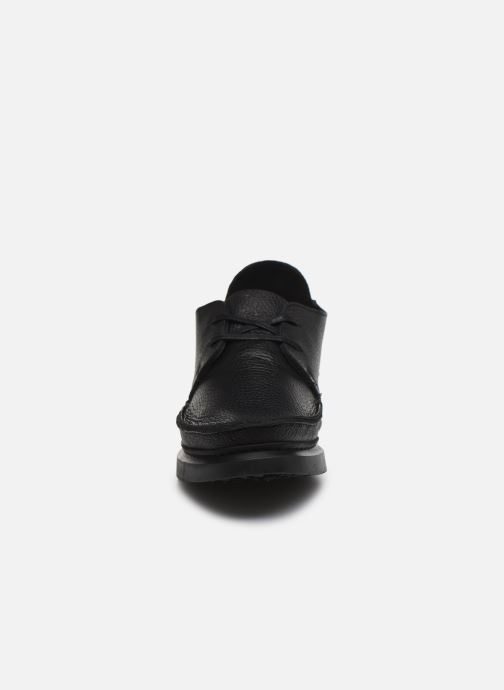 Lace-up shoes Clarks Originals Seven M Black model view
