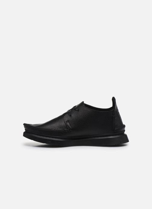 Lace-up shoes Clarks Originals Seven M Black front view