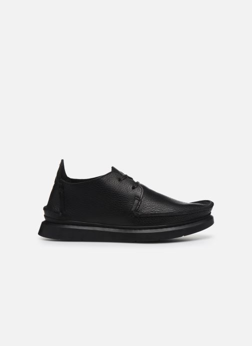 Lace-up shoes Clarks Originals Seven M Black back view