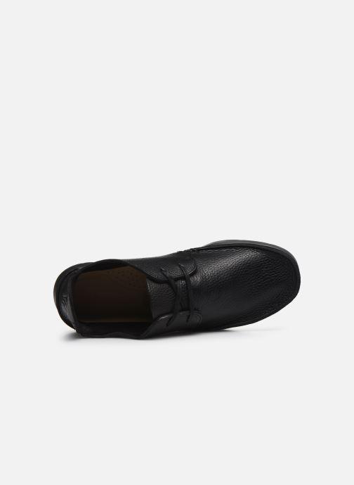 Zapatos con cordones Clarks Originals Seven M Negro vista lateral izquierda