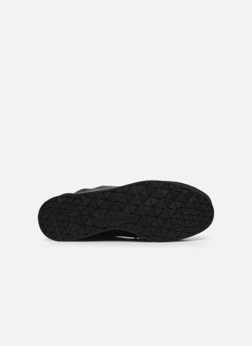 Zapatos con cordones Clarks Originals Seven M Negro vista de arriba