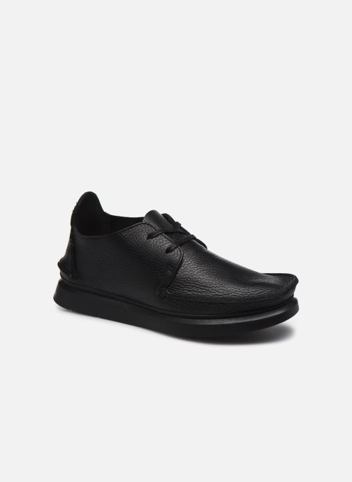 Lace-up shoes Clarks Originals Seven M Black detailed view/ Pair view