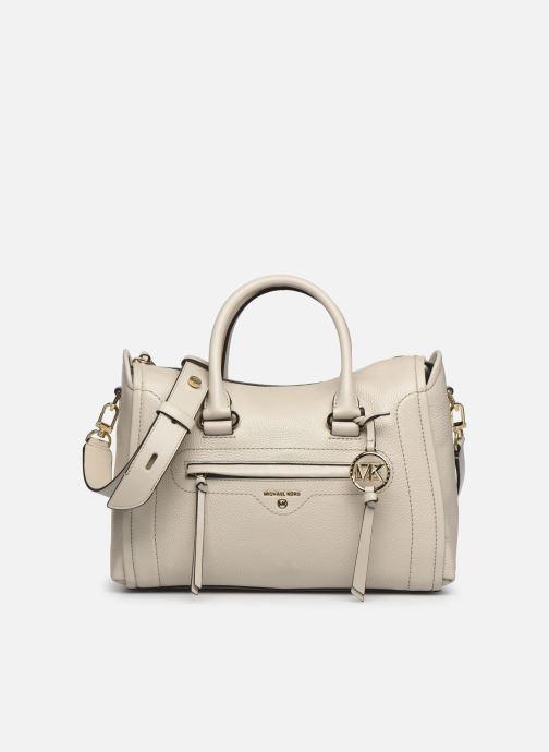 Handtaschen Michael Michael Kors CARINA SATCHEL beige detaillierte ansicht/modell