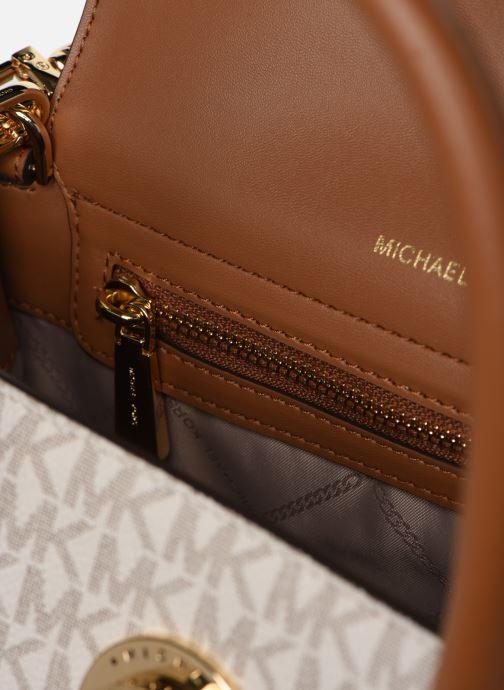 Borse Michael Michael Kors CARMEN SATCHEL Beige immagine posteriore