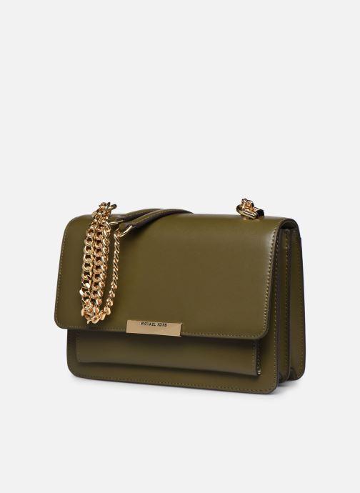 Bolsos de mano Michael Michael Kors JADE SHOULDER BAG Verde vista del modelo