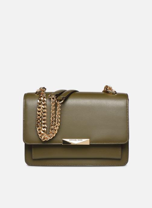 Bolsos de mano Michael Michael Kors JADE SHOULDER BAG Verde vista de detalle / par