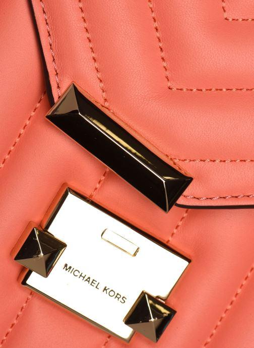 Bolsos de mano Michael Michael Kors WHITNEY LG SHLDR Naranja vista lateral izquierda