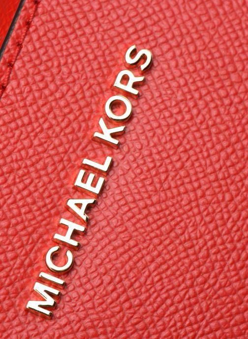 Borse Michael Michael Kors JET SET LG EW CROSSBODY Rosso immagine sinistra