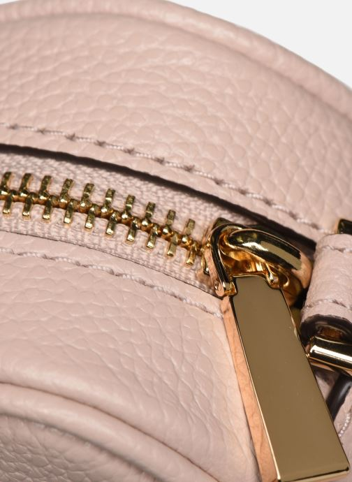 Bolsos de mano Michael Michael Kors JET SET CAMERA BAG Rosa vista lateral izquierda