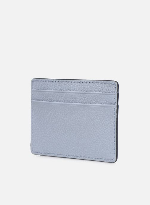 Pelletteria Michael Michael Kors JET SET  CARD HOLDER Azzurro immagine destra