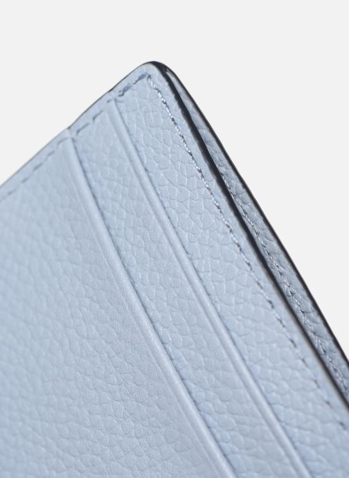 Pelletteria Michael Michael Kors JET SET  CARD HOLDER Azzurro immagine posteriore