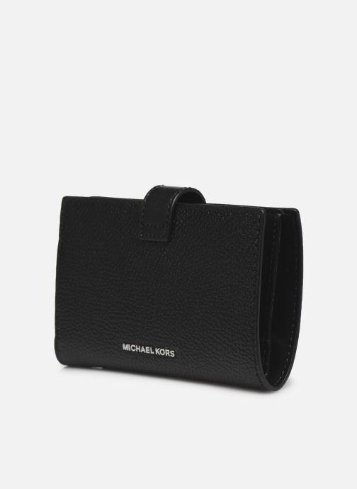 Marroquinería pequeña Michael Michael Kors MK CHARM MONEY PIECE Negro vista del modelo