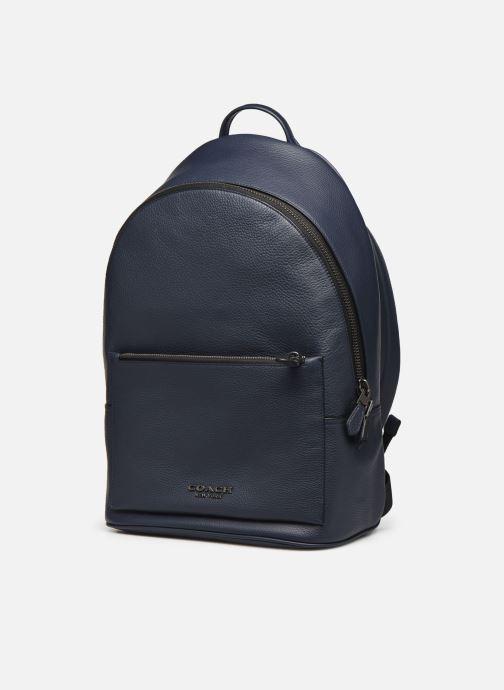 Rucksäcke Coach Metropolitan Soft Backpack Cew blau schuhe getragen