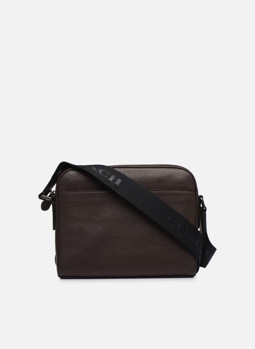 Herrentaschen Coach Metropolitan Soft Camera Bag Crew braun ansicht von vorne