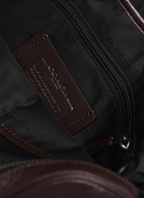 Herrentaschen Coach Metropolitan Soft Camera Bag Crew braun ansicht von hinten