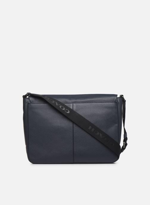 Herrentaschen Coach Metropolitan Soft Courier Cew blau ansicht von vorne
