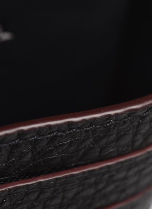 Portemonnaies & Clutches Coach Card Case In Pebble Leather schwarz ansicht von hinten