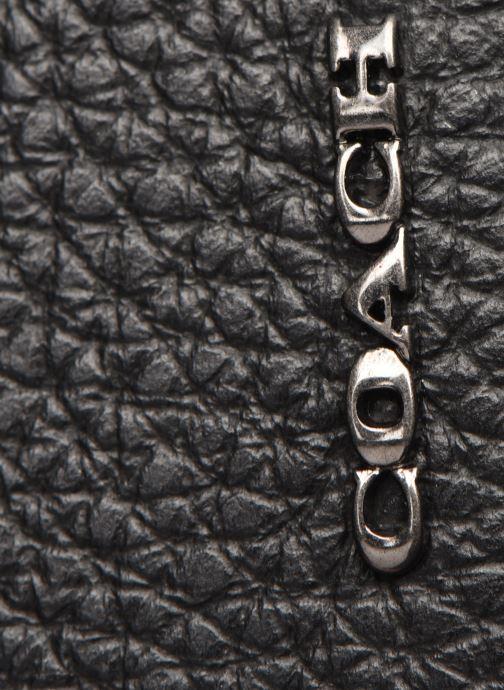 Portemonnaies & Clutches Coach Card Case In Pebble Leather schwarz ansicht von links