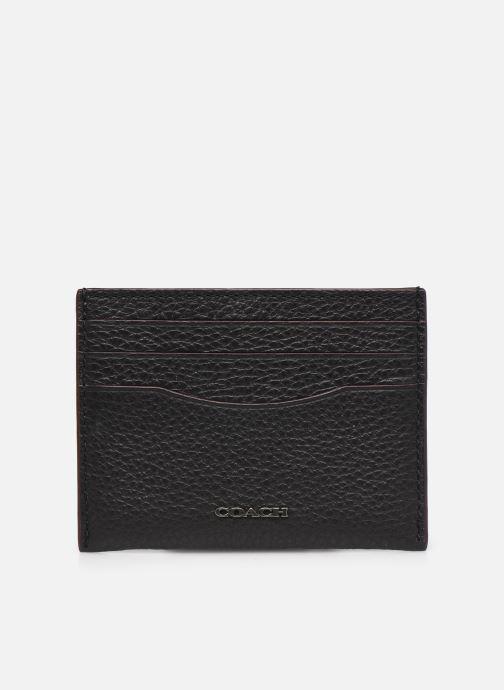 Portemonnaies & Clutches Coach Card Case In Pebble Leather schwarz detaillierte ansicht/modell