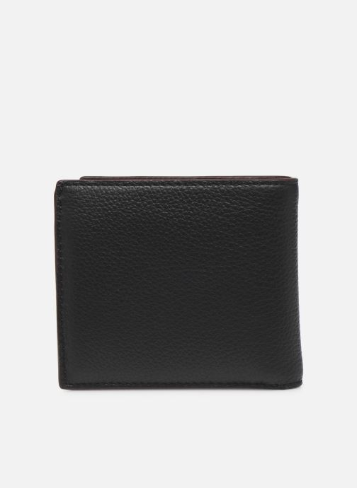 Petite Maroquinerie Coach Coin Wallet In Pebble Leather Noir vue face