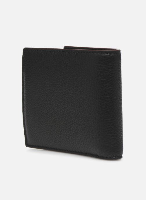 Petite Maroquinerie Coach Coin Wallet In Pebble Leather Noir vue droite