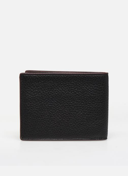 Petite Maroquinerie Coach Slim Bill In Pebble Leather Noir vue face
