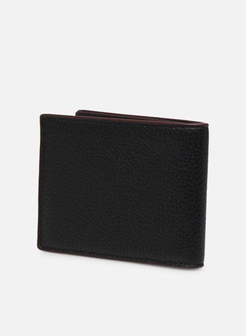 Petite Maroquinerie Coach Slim Bill In Pebble Leather Noir vue droite