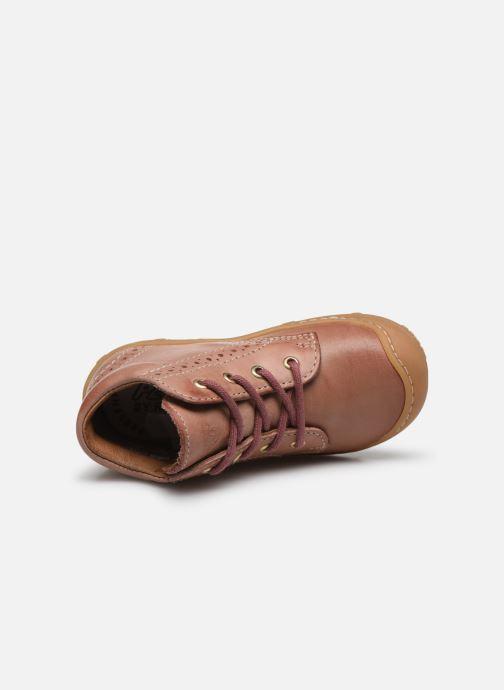 Stiefeletten & Boots Pepino Kelly rosa ansicht von links