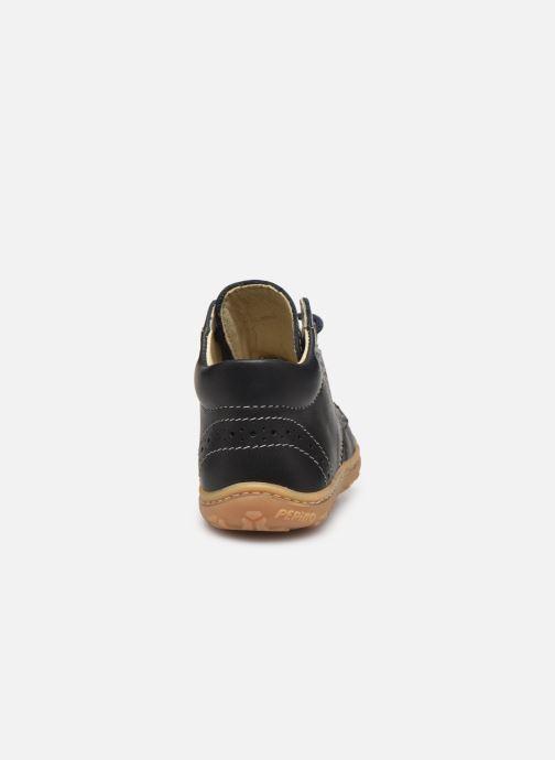 Bottines et boots Pepino Kelly Bleu vue droite