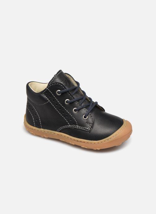 Bottines et boots Pepino Kelly Bleu vue détail/paire