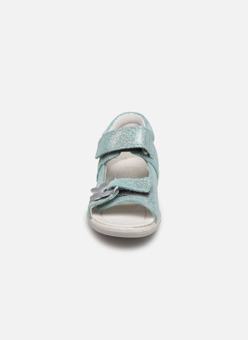 Sandali e scarpe aperte Pepino Silvi Azzurro modello indossato