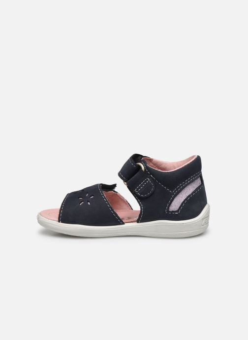 Sandales et nu-pieds Pepino Finni Bleu vue face