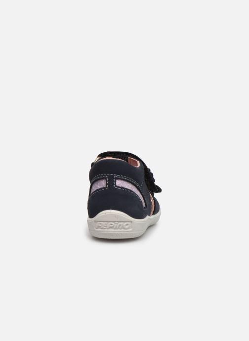 Sandales et nu-pieds Pepino Finni Bleu vue droite