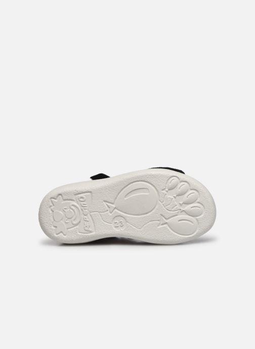 Sandales et nu-pieds Pepino Finni Bleu vue haut