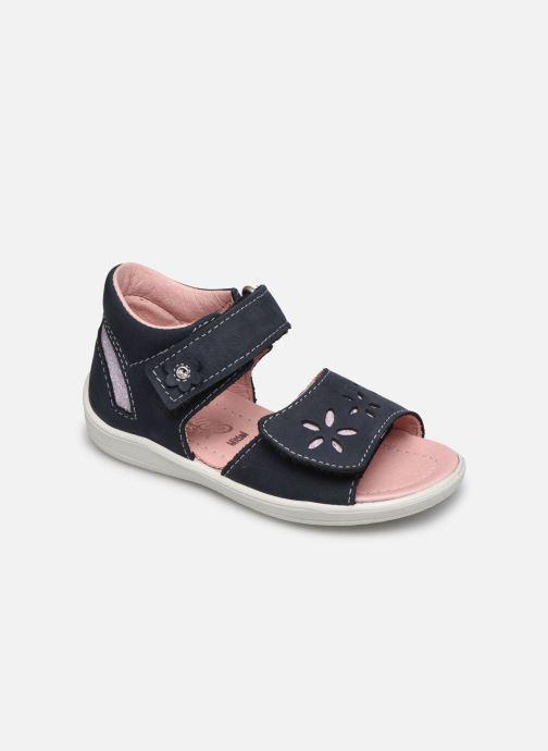 Sandales et nu-pieds Pepino Finni Bleu vue détail/paire