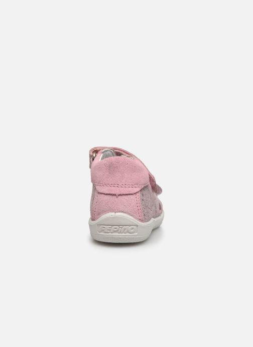 Sandali e scarpe aperte Pepino Vivi Rosa immagine destra