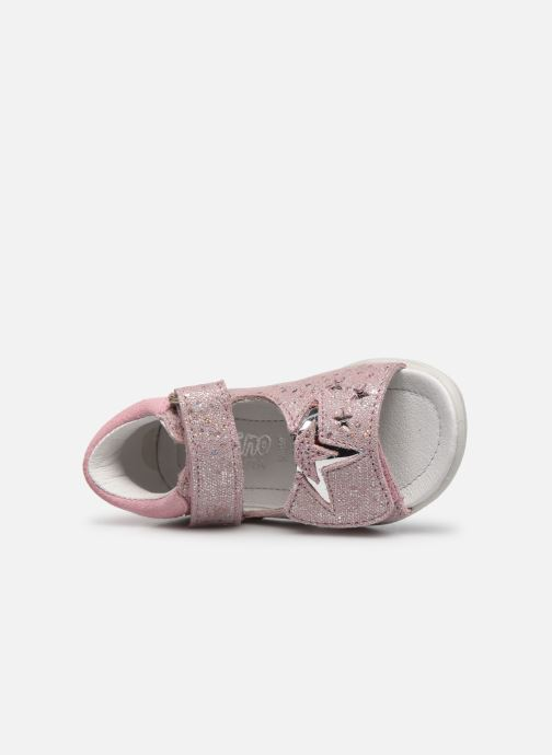 Sandali e scarpe aperte Pepino Vivi Rosa immagine sinistra