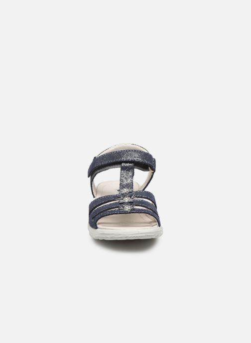 Sandali e scarpe aperte Ricosta Cleo Argento modello indossato