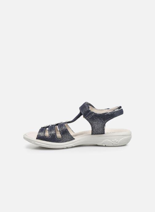 Sandales et nu-pieds Ricosta Cleo Argent vue face