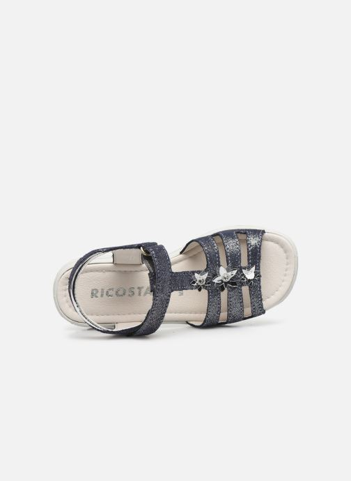 Sandales et nu-pieds Ricosta Cleo Argent vue gauche