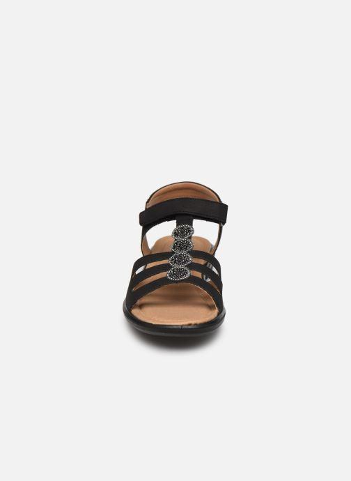 Sandales et nu-pieds Ricosta Ana Noir vue portées chaussures