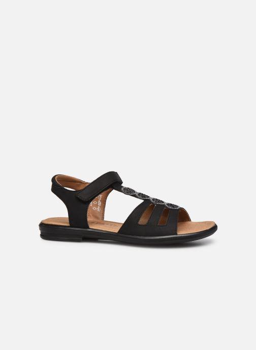 Sandales et nu-pieds Ricosta Ana Noir vue derrière