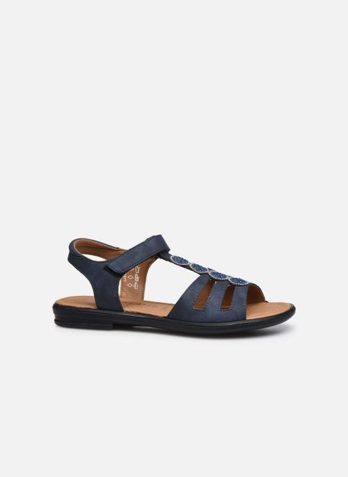 Sandales et nu-pieds Ricosta Ana Bleu vue derrière