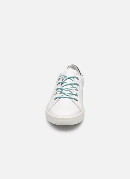 Baskets Ricosta Mira Blanc vue portées chaussures