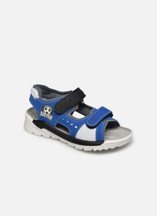 Sandales et nu-pieds Ricosta Soccer Bleu vue détail/paire